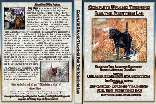 Complete Upland training dvd